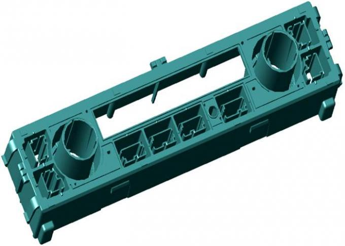 Precision plastic injection molding for HAVAC system control plant main body