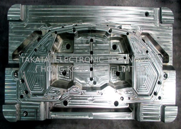 Plastic injection mold tooling for automotive cluster front