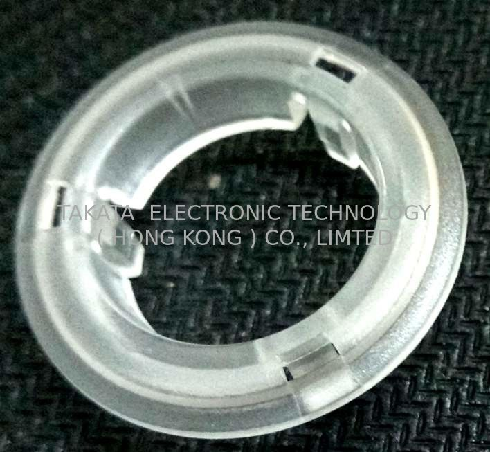 Halo ring  prototype mold for water boiler buttons , PC clear and fine texture surface light diffusing part