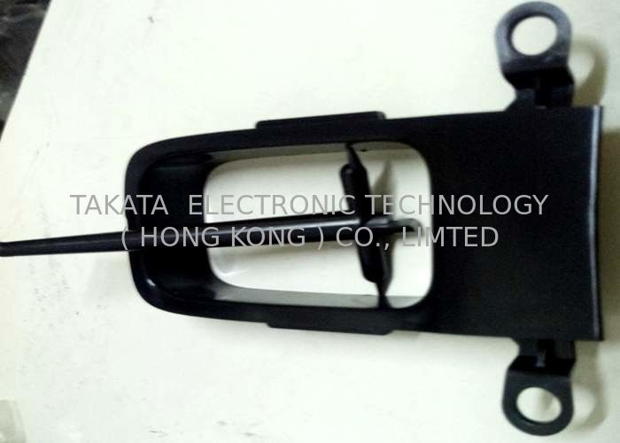 Door Frame prototype tooling Valox 357X black and polish surface for car door module