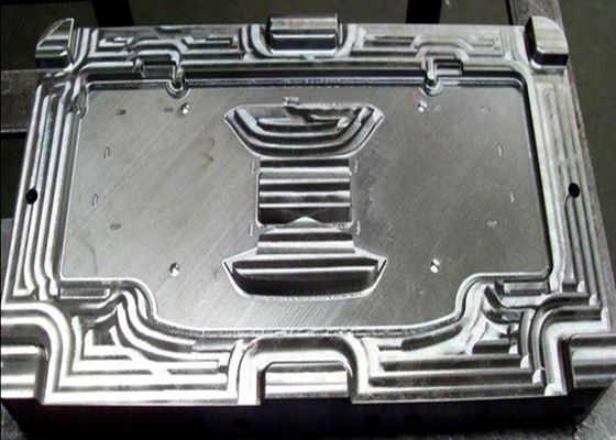 China S50C Steel Material Plastic injection mould Fisker cluster front face main cosmetic part factory