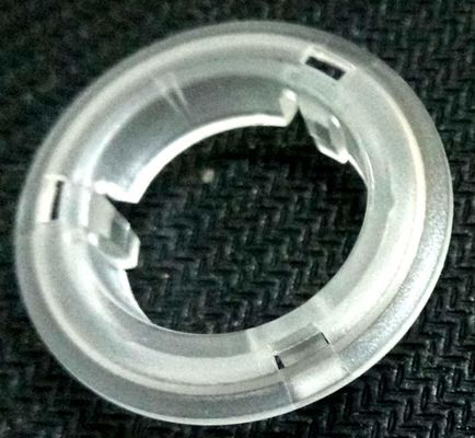 China Halo ring  prototype mold for water boiler buttons , PC clear and fine texture surface light diffusing part distributor