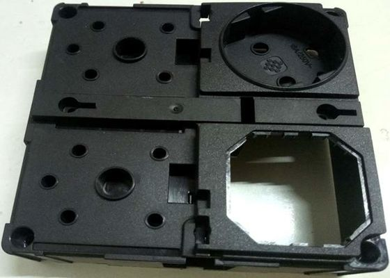 China Socket prototype mold PC markolon 2405 Resin with special function exchangable inserts molds distributor