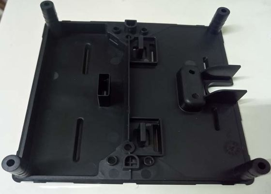 China Plastic moulded parts ABS V0 black and texture surface and no visible welding line distributor